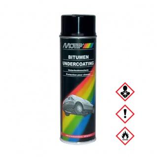 MoTip Unterbodenschutz Bitumen für UBC Spritzpistole Kfz 1000ml