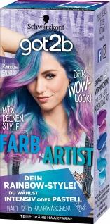 SCHWARZKOPF GOT2B Farb/Artist Rainbow Bunt 111 Stufe 1 90ml