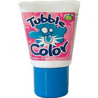Tubble Gum Tutti Frutti Kaugummi Tube mit Himbeer Geschmack 35g