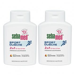 Sebamed Sportdusche für empfindliche strapazierte Haut 200ml 2er Pack