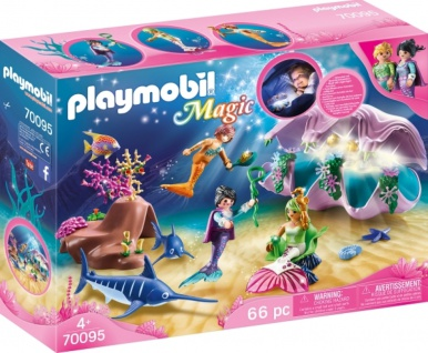Playmobil Magic Nachtlicht Perlenmuschel Konstruktionsspiel 70095