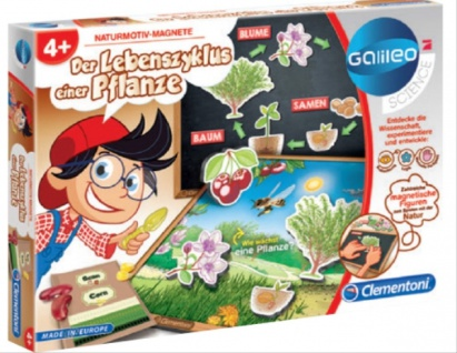 Galileo Der Lebenszyklus einer Pflanze