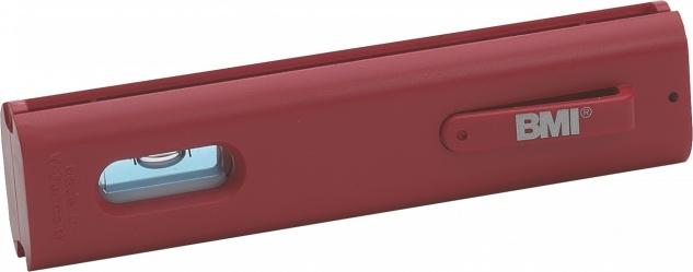 BMI Schnur-Wasserwaage Line Level 12cm aus ABS-Kunststoff mit Halteclip