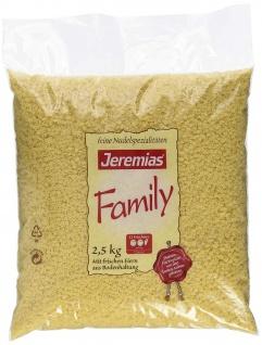 Jeremias Suppen Sterne Family Nudeln mit frischen Eiern 2500g