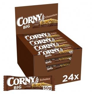 Corny Big Schoko Müsliriegel mit Milchschokolade 50g 24er Pack