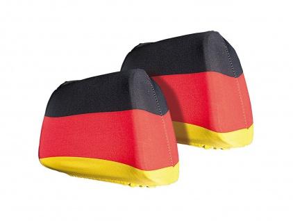 Cepewa Auto Sitz Kopfstuetzenueberzug Deutschland Flagge 2er Set