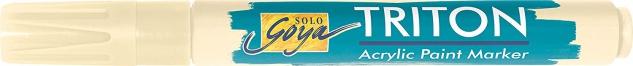 Kreul Acrylmarker SOLO Goya Triton Acrylic 1.4 Farbe Elfenbein