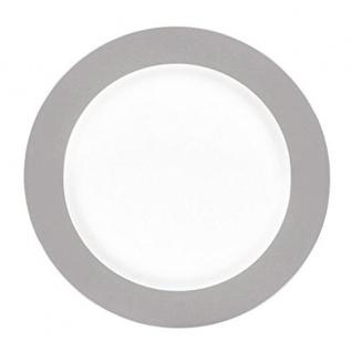 Frühstücksteller 20cm Doppio grau
