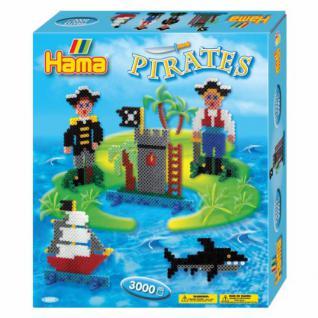 Bügelperlen HAMA Geschenk-Set Piraten