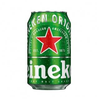 Heineken Original Lager Bier Premium Qualität in der Dose EW 330ml