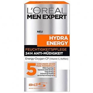 L'Oréal Men Expert Hydra Energy 24h Feuchtigkeitspflege Anti Müdigkeit 50ml