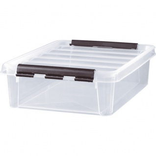 Hobby Box 14 mit Deckel transparent Aufbewahrungsbox von Orthex