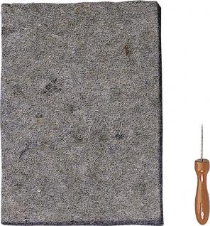 Prickelset Unterlage Nadel 25x18 cm