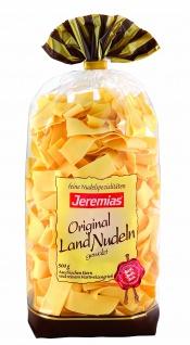 Jeremias Bandnudeln 20mm gewalzt Gourmet Frischei Landnudeln 500g