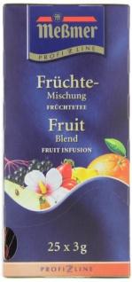 Meßmer ProfiLine Früchte Mischung Früchtetee herzhaft 3er Pack