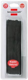 brennenstuhl KlettKabelbinder, 125 x 10 mm, schwarz 1164340