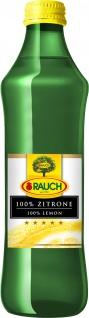 Rauch 100 Prozent Zitronensaft fruchtig zitronig 250ml 12er Pack