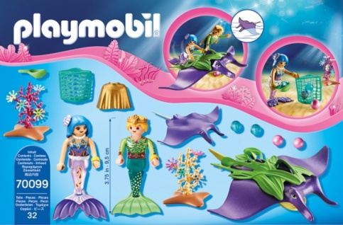 Playmobil Magic Perlensammler mit Rochen Konstruktionsspiel 70099