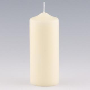 Kerzen Stumpenkerzen Elfenbein 200x80mm RAL Qualität 1 Stück