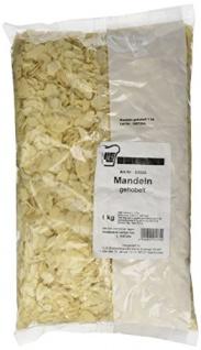 Mandeln gehobelt blanchiert von Insula zum Backen und Kochen 1000g