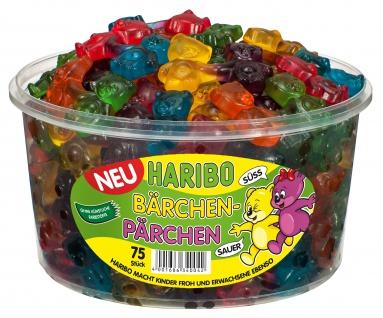 Haribo Bärchen Pärchen süße saure Bärchen gehen Hand in Hand 1200g 3er Pack