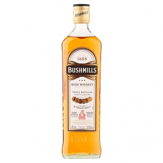 Bushmills Irish Triple Distilled Whisky Smooth und Mellow 700 ml