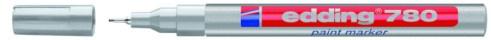 Edding Paintmarker Lackmarker 780 silber Strich-B.0, 8mm Rundspitze