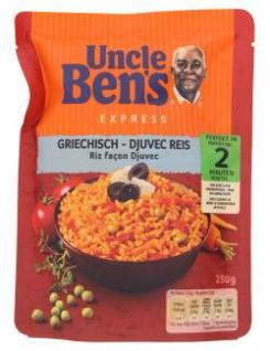 Uncle Bens Express Griechisch Djuvec Paprika + Tomate 250g