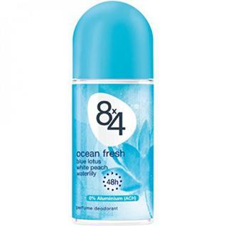 8x4 Men Deo, Roll-On Ocean Fresh, 6er Pack (6 x 50 ml) - Vorschau