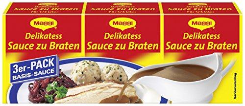 Maggi Delikatess Sauce zu Braten, Dreierpack