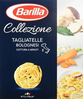 Barilla Hartweizen Pasta Collezione Tagliatelle 2000g 4er Pack