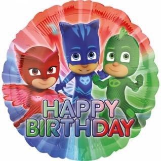 PJ Masks Happy Birthday Folienballon