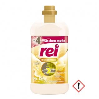 Rei Premium Pflege flüssig Fein und Colowaschmittel mit Arganöl 24WL