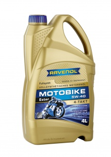 Ravenol Motorradoel 4-T Ester 5W40 4000ml