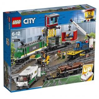 Lego City 60198 Güterzug Befördere deine Fracht durch die LEGO City Welt