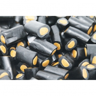 Lakritzstücke Salmiak Rocks mit Salmiak Konfekt Füllung 1000g
