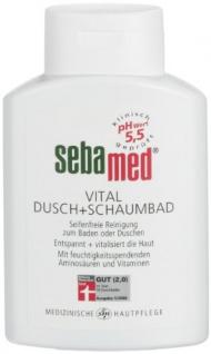 SEBAMED Vital Dusch und Schaumbad für empfindliche Haut 200 ml 2er Pack