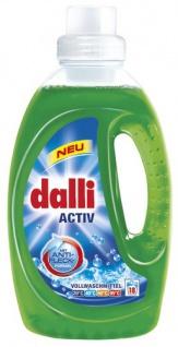 Dalli Activ Flüssig Vollwaschmittel 18WL, 3er Pack (3 x 1, 35 l)