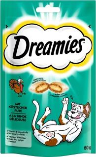 Dreamies mit Pute für Katzen leckerer Snack im Frischebeutel 60g