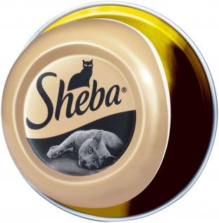 Sheba Nassfutter Schale mit Hühnchenbrustfilets im eigenen Saft 80g