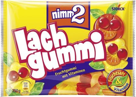 nimm2 Lachgummi Fruchtgummi mit Vitaminen und Fruchtsaft 250g