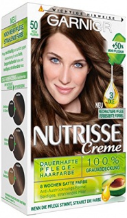 Loreal, Garnier Nutrisse Creme Pflegende Intensive-Coloration Mocca 50