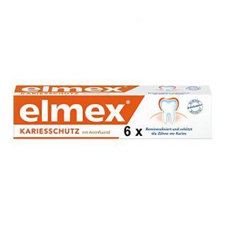 Elmex Zahncreme, 6er Pack (6 x 75 ml)