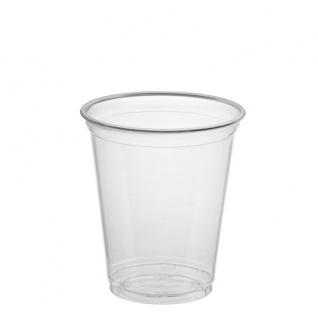 "Trinkbecher "" Hurricane"", PET 0, 3 l Ø 9, 5 cm · 10, 5 cm glasklar, 50 Stück"