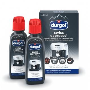 Durgol Swiss Espresso Spezial Entkalker Kaffeevollautomaten 2x125ml