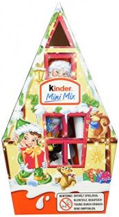 Ferrero Kinder Mini Mix Haus, 12er Pack