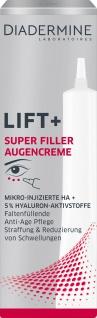 DIADERMINE LIFT Augenpflege SUPER FILLER Augencreme Anti-Age Pflege 15ML
