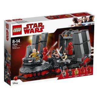 Lego Star Wars 75216 Snokes Thronsaal Erlebe spannende Action