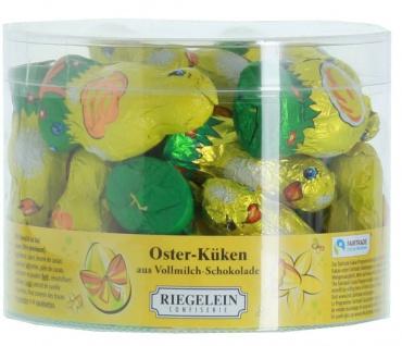 Riegelein Oster Küken aus Vollmilchschokolade 24x12g 1er Pack