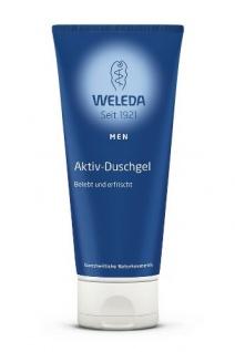 Weleda Men Aktiv Duschgel 200 ml, 1er Pack (1 x 200 ml)